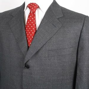 Canali Men's Three Button Sport Coat Size 44R